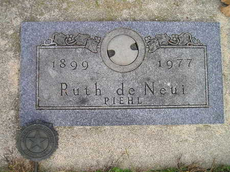 DE NEUI, RUTH - Bremer County, Iowa | RUTH DE NEUI