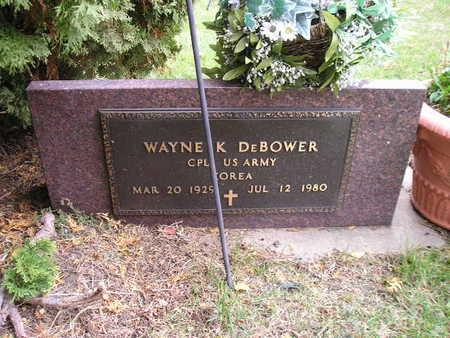 DEBOWER, WAYNE K - Bremer County, Iowa   WAYNE K DEBOWER
