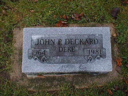 DECKARD, JOHN P
