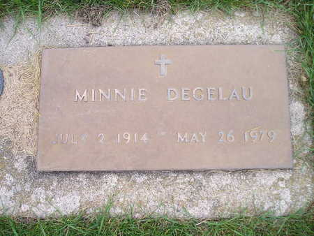 DEGELAU, MINNIE - Bremer County, Iowa | MINNIE DEGELAU