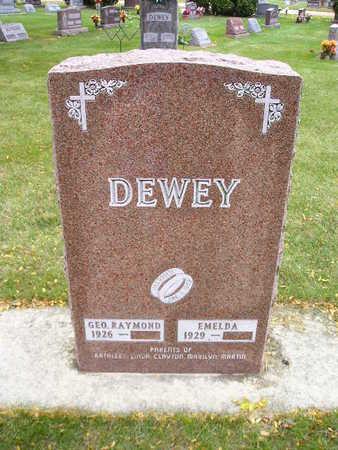 DEWEY, EMELDA - Bremer County, Iowa | EMELDA DEWEY