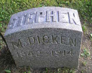 DICKEN, STEPHEN M - Bremer County, Iowa | STEPHEN M DICKEN