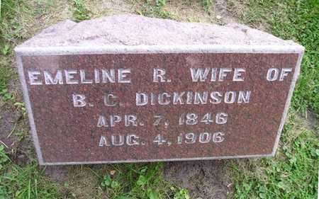 DICKINSON, EMELINE R - Bremer County, Iowa | EMELINE R DICKINSON