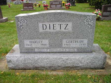 DIETZ, GERTRUDE - Bremer County, Iowa | GERTRUDE DIETZ