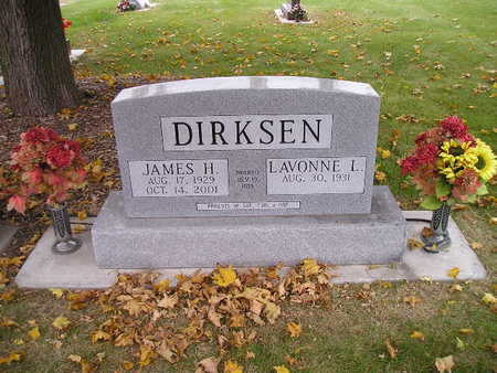 DIRKSEN, JAMES H - Bremer County, Iowa | JAMES H DIRKSEN