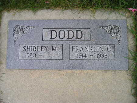 DODD, SHIRLEY M - Bremer County, Iowa | SHIRLEY M DODD