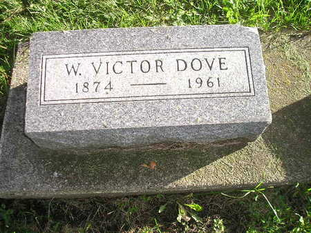 DOVE, W VICTOR - Bremer County, Iowa | W VICTOR DOVE
