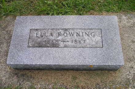 DOWNING, ELLA - Bremer County, Iowa | ELLA DOWNING