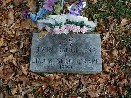 DRAPE, DAUGHTERS - Bremer County, Iowa   DAUGHTERS DRAPE