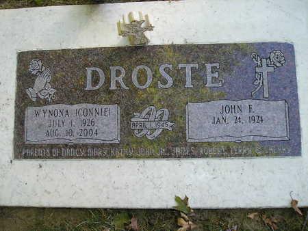 DROSTE, WYNONA