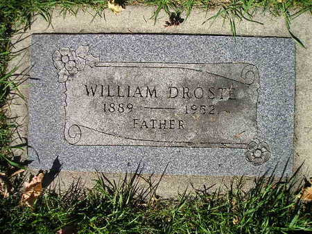 DROSTE, WILLIAM - Bremer County, Iowa | WILLIAM DROSTE