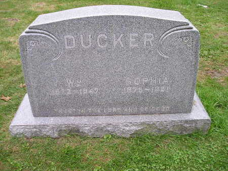 DUCKER, WM - Bremer County, Iowa | WM DUCKER