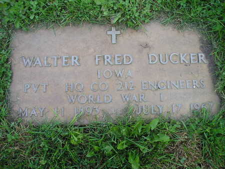 DUCKER, WALTER FRED - Bremer County, Iowa | WALTER FRED DUCKER