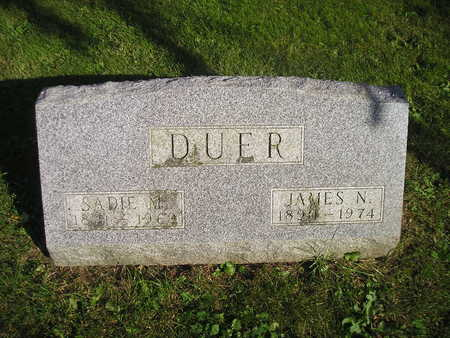 DUER, JAMES N - Bremer County, Iowa | JAMES N DUER