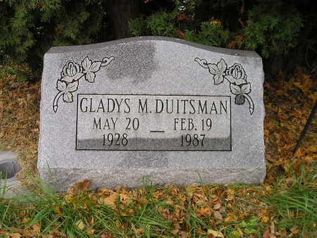 DUITSMAN, GLADYS M - Bremer County, Iowa | GLADYS M DUITSMAN