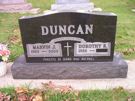DUNCAN, MARVIN J - Bremer County, Iowa | MARVIN J DUNCAN