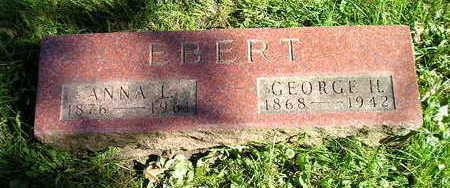 EBERT, GEORGE H - Bremer County, Iowa | GEORGE H EBERT