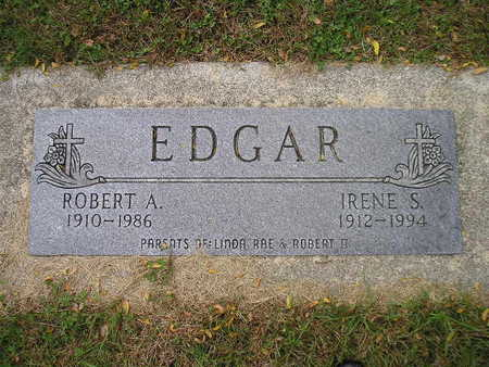 EDGAR, ROBERT A - Bremer County, Iowa | ROBERT A EDGAR