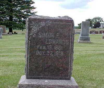 EDWARDS, SIMON F. - Bremer County, Iowa | SIMON F. EDWARDS