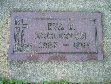 EGGLESTON, EVA E - Bremer County, Iowa | EVA E EGGLESTON