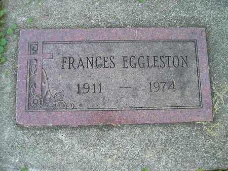 EGGLESTON, FRANCES - Bremer County, Iowa | FRANCES EGGLESTON