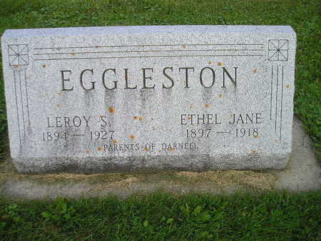 EGGLESTON, LEROY S - Bremer County, Iowa | LEROY S EGGLESTON