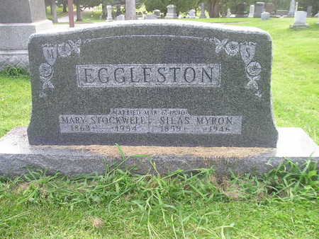 STOCKWELL EGGLESTON, MARY - Bremer County, Iowa | MARY STOCKWELL EGGLESTON