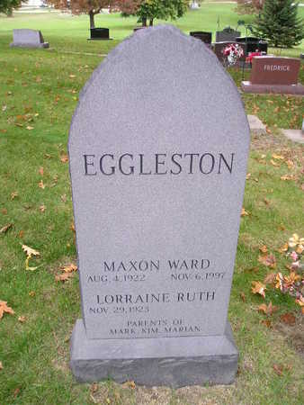 EGGLESTON, MAXON WARD - Bremer County, Iowa | MAXON WARD EGGLESTON