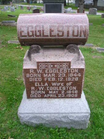 EGGLESTON, ELLA - Bremer County, Iowa | ELLA EGGLESTON
