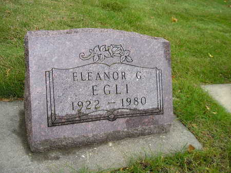 EGLI, ELEANOR G - Bremer County, Iowa | ELEANOR G EGLI