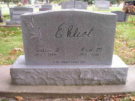 EHLERT, WALTER G - Bremer County, Iowa | WALTER G EHLERT