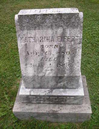 EIFERT, KATHARINA - Bremer County, Iowa | KATHARINA EIFERT