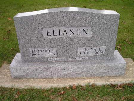 ELIASEN, LEONARD L - Bremer County, Iowa | LEONARD L ELIASEN
