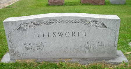 ELLSWORTH, BERTHA G - Bremer County, Iowa | BERTHA G ELLSWORTH