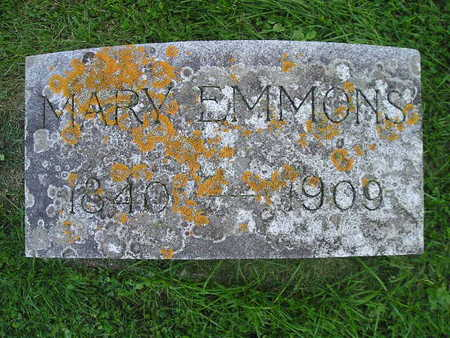 EMMONS, MARY - Bremer County, Iowa | MARY EMMONS
