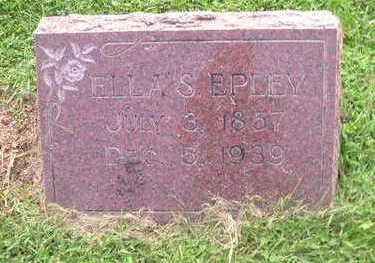 EPLEY, ELLA - Bremer County, Iowa   ELLA EPLEY