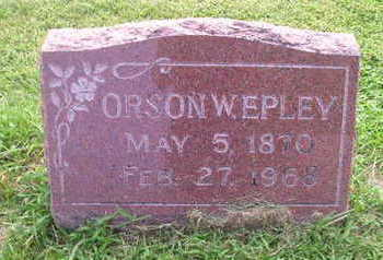 EPLEY, ORSON - Bremer County, Iowa | ORSON EPLEY