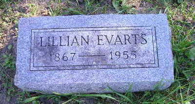 EVARTS, LILLIAN - Bremer County, Iowa | LILLIAN EVARTS
