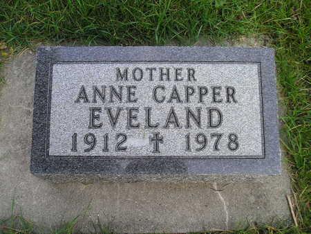 EVELAND, ANNE - Bremer County, Iowa | ANNE EVELAND