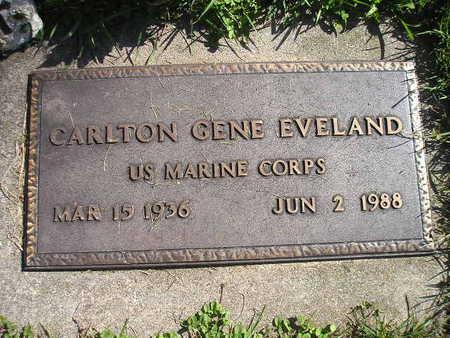 EVELAND, CARLTON GENE - Bremer County, Iowa | CARLTON GENE EVELAND