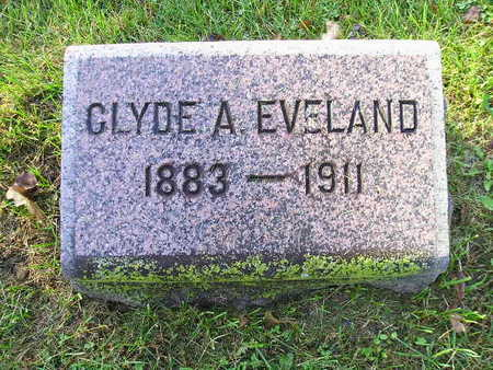 EVELAND, CLYDE A - Bremer County, Iowa | CLYDE A EVELAND