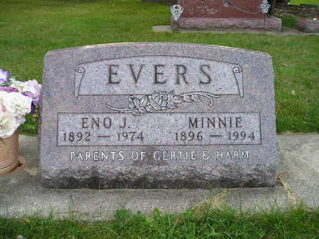 EVERS, MINNIE - Bremer County, Iowa | MINNIE EVERS