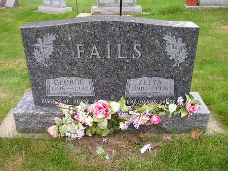 FAILS, ZETTA - Bremer County, Iowa | ZETTA FAILS
