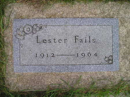 FAILS, LESTER - Bremer County, Iowa | LESTER FAILS