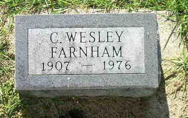 FARNHAM, C WESLEY - Bremer County, Iowa | C WESLEY FARNHAM