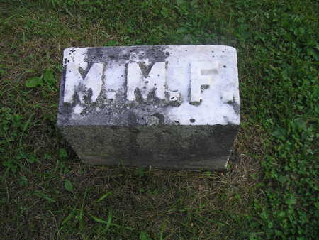 FAVILLE, MMF (MARIA M) - Bremer County, Iowa   MMF (MARIA M) FAVILLE