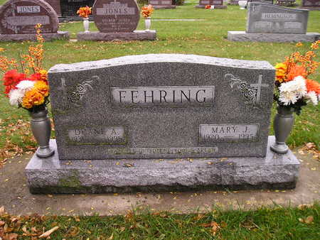 FEHRING, MARY J - Bremer County, Iowa | MARY J FEHRING