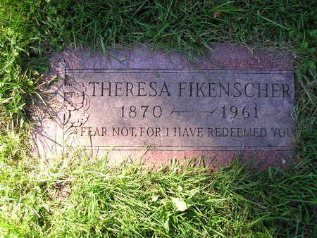 FIKENSCHER, THERESA - Bremer County, Iowa | THERESA FIKENSCHER