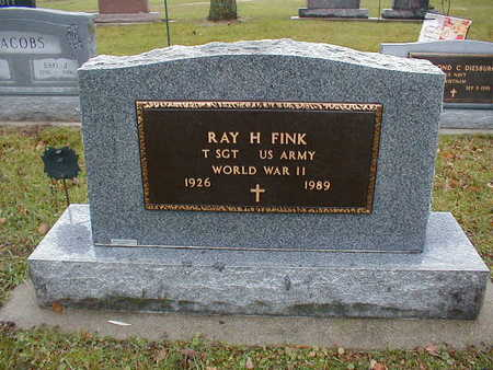 FINK, RAY H - Bremer County, Iowa | RAY H FINK