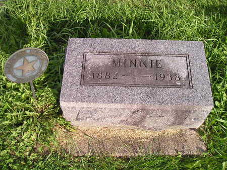 FINLEY, MINNIE - Bremer County, Iowa | MINNIE FINLEY